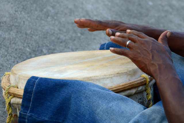 """Rhythm's Hands"" courtesy of Woody Hibbard on Flickr."